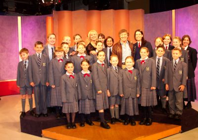 Don & Choir on Kerry Ann Show
